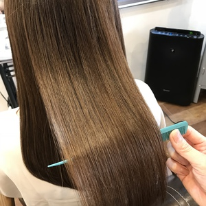 東京  尾山台 で髪質改善ができる縮毛矯正