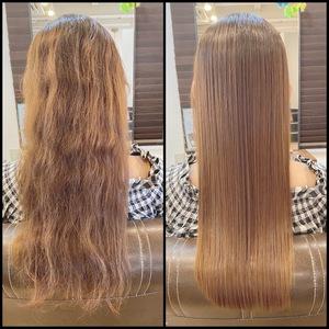 髪質改善について